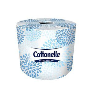 Individually wrapped roll of Cottonelle® commercial toilet paper